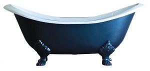 Vrijstaand bad op pootjes gietijzer 183cm Antique WG15