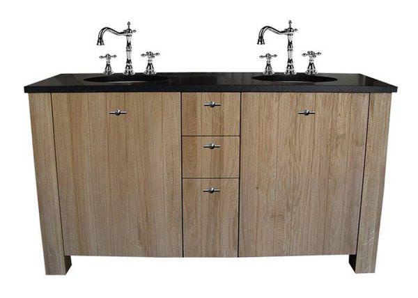 Klassiek badkamermeubel 160cm hout
