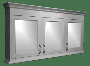 spiegelkast badkamer hout