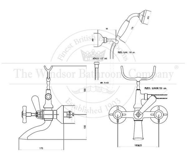 horton-studley-klassieke-badmengkraan-hs2522w-met