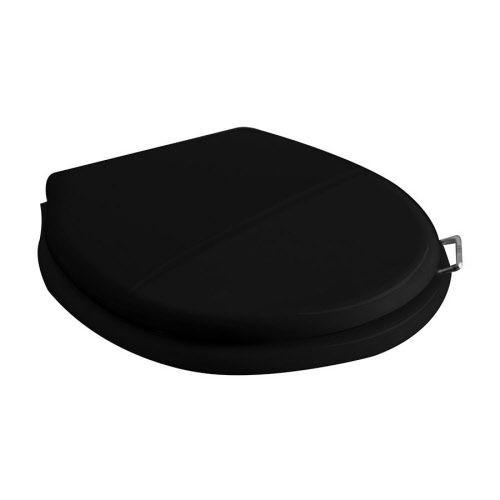 Toiletzitting kunststof zwart