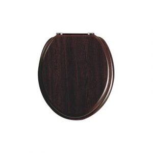 Toiletzitting hout walnoot