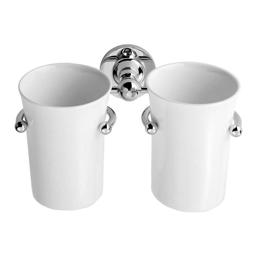 Klassieke Dubbele Bekerhouder Wacd04 Windsor Bathrooms