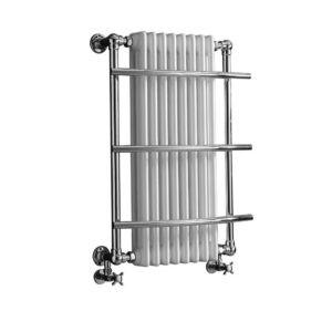 Handdoekradiator-verticaal-chroom