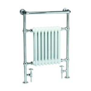 Handdoekradiator-verticaal-wit-chroom