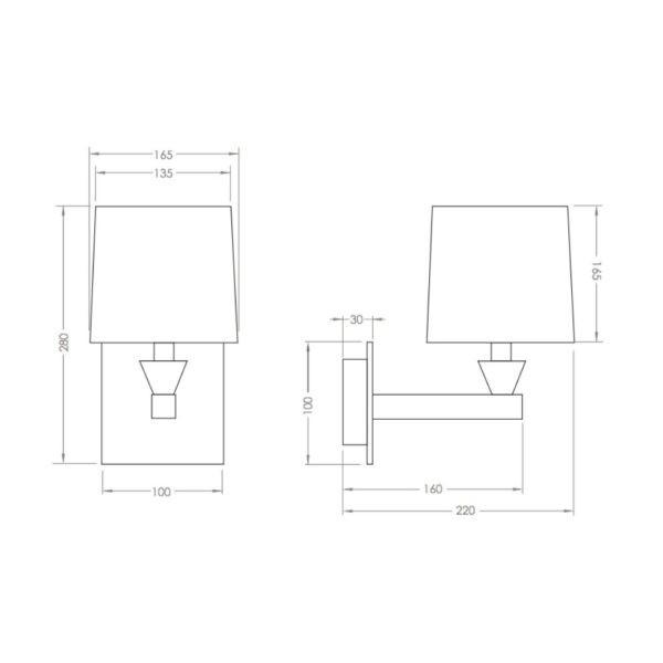 Wandlamp-Astoria-bouwtekening