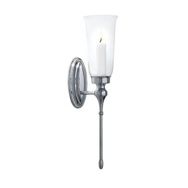 Wandlamp-Westminster-kaars-chroom-goud-nikkel