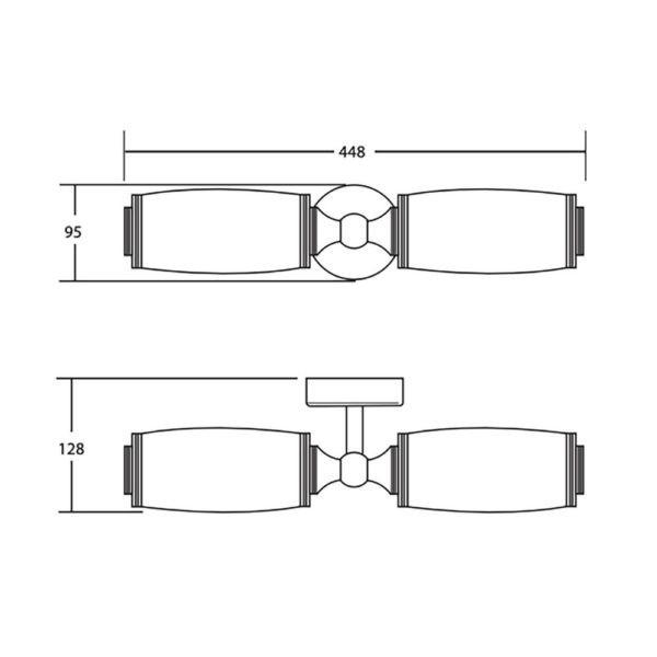 Wandlamp-dubbel-Toledo-bouwtekening