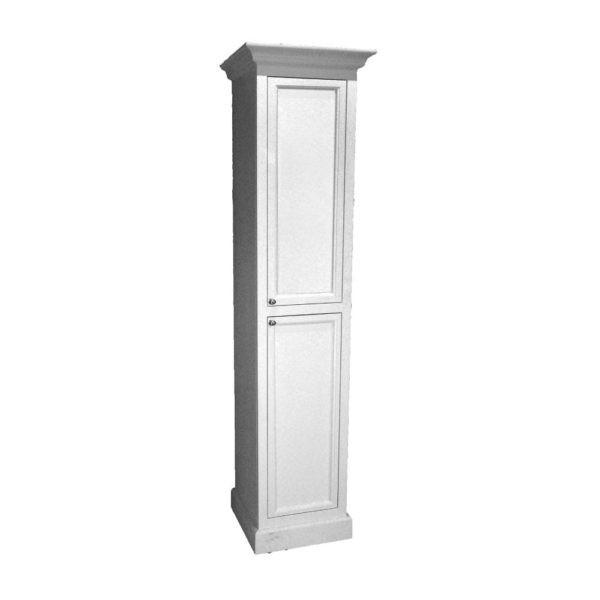 kolomkast-dicht-klassiek-hout-203x40x40cm
