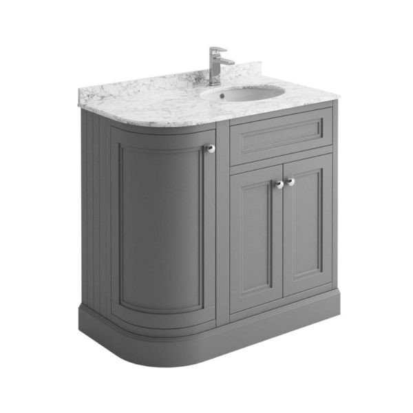 klassiek-badkamermeubel-lichtgrijs-marmer-blad-hoek-90cm